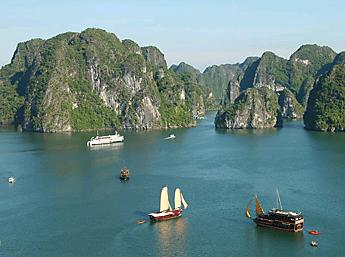 Halong-Bay,Vietnam Panorama Tours,Vietnam Panorama 23 Days
