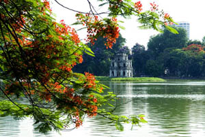 Hoan Kiem Lake,Vietnam Panorama Tours,Vietnam Panorama 23 Days