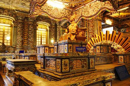 King Khai Dinh tomb