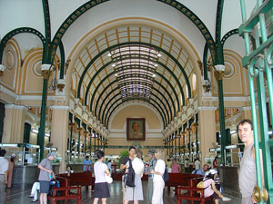 Old Central Post Office,Ho Chi Minh City Tour,Ho Chi Minh City 1 Day Tour