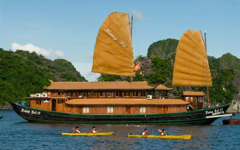 Huong Hai Junk,Huong Hai Deluxe Cruise,Huong Hai Deluxe Junk