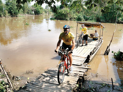 Mekong Cycling (2 Days- Homestay)